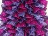 Samba Glitz Maroon Lilac Fuchsia