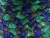 Samba Glitz Purple Khaki Green