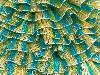 Samba Glitz Yellow Turquoise Silver Green
