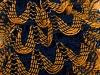 Mirabella Glitz Yellow Navy Gold