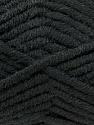 Fiber Content 50% Merino Wool, 50% Acrylic, Brand KUKA, Black, Yarn Thickness 5 Bulky  Chunky, Craft, Rug, fnt2-16720