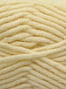 Fiber Content 50% Merino Wool, 50% Acrylic, Brand KUKA, Cream, Yarn Thickness 5 Bulky  Chunky, Craft, Rug, fnt2-16724