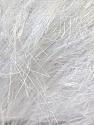 Fiber Content 100% Polyester, White, Brand KUKA, Yarn Thickness 5 Bulky  Chunky, Craft, Rug, fnt2-20780