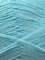Very thin yarn. It is spinned as two threads. So you will knit as two threads. Fiber Content 100% Acrylic, Light Blue, Brand ICE, Yarn Thickness 1 SuperFine  Sock, Fingering, Baby, fnt2-22441