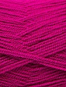 Very thin yarn. It is spinned as two threads. So you will knit as two threads. Fiber Content 100% Acrylic, Brand ICE, Dark Fuchsia, Yarn Thickness 1 SuperFine  Sock, Fingering, Baby, fnt2-22452