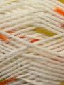 Fiber Content 100% Baby Acrylic, White, Orange, Brand ICE, Green, Brown, Yarn Thickness 2 Fine  Sport, Baby, fnt2-23499
