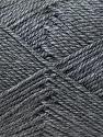 Fiber Content 100% Acrylic, Brand ICE, Grey, Yarn Thickness 2 Fine  Sport, Baby, fnt2-23583
