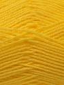 Fine Weight  Fiber Content 100% Acrylic, Yellow, Brand ICE, Yarn Thickness 2 Fine  Sport, Baby, fnt2-24517