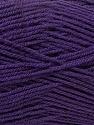 Fine Weight  Fiber Content 100% Acrylic, Purple, Brand ICE, Yarn Thickness 2 Fine  Sport, Baby, fnt2-24518