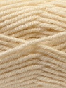 Fiber Content 60% Acrylic, 20% Wool, 20% Alpaca, Brand ICE, Cream, Yarn Thickness 5 Bulky  Chunky, Craft, Rug, fnt2-25353