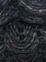 Fiber Content 90% Acrylic, 10% Polyester, Brand ICE, Grey, Dark Brown, Black, Yarn Thickness 6 SuperBulky  Bulky, Roving, fnt2-25507