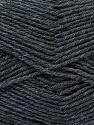 Fiber Content 100% Virgin Wool, Brand ICE, Dark Grey, Yarn Thickness 3 Light  DK, Light, Worsted, fnt2-25649