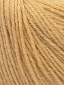 Fiber Content 40% Acrylic, 40% Merino Wool, 20% Polyamide, Brand ICE, Cream, Yarn Thickness 2 Fine  Sport, Baby, fnt2-26114