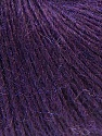 Fiber Content 48% Merino Wool, 27% Acrylic, 25% Polyamide, Brand ICE, Dark Purple, Yarn Thickness 2 Fine  Sport, Baby, fnt2-26147