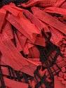 Fiber Content 60% Paper, 40% Polyester, Brand ICE, Burgundy, Black, Yarn Thickness 3 Light  DK, Light, Worsted, fnt2-27037