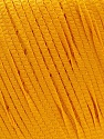 Fiber Content 100% Polyester, Brand ICE, Dark Yellow, Yarn Thickness 4 Medium  Worsted, Afghan, Aran, fnt2-27338