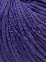 Fiber Content 50% Acrylic, 50% Cotton, Purple, Brand ICE, Yarn Thickness 3 Light  DK, Light, Worsted, fnt2-27364
