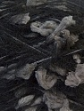 Fiber Content 40% Mohair, 30% Polyester, 30% Acrylic, Brand ICE, Grey, Black, Yarn Thickness 4 Medium  Worsted, Afghan, Aran, fnt2-27492