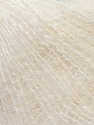 Fiber Content 70% Kid Mohair, 30% Polyamide, Off White, Brand ICE, Yarn Thickness 1 SuperFine  Sock, Fingering, Baby, fnt2-29775