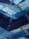 Fiber Content 90% Micro Fiber, 10% Metallic Lurex, Brand ICE, Blue Shades, Yarn Thickness 6 SuperBulky  Bulky, Roving, fnt2-30927