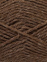 Fiber Content 70% Acrylic, 20% Wool, 10% Linen, Brand ICE, Brown, Yarn Thickness 4 Medium  Worsted, Afghan, Aran, fnt2-32440
