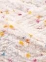 Fiber Content 85% Micro Fiber, 15% Polyamide, White, Brand ICE, Yarn Thickness 5 Bulky  Chunky, Craft, Rug, fnt2-32477