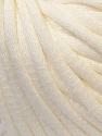 This is a tube-like yarn with soft cotton fleece filled inside. Fiber Content 70% Cotton, 30% Polyester, Brand ICE, Cream, Yarn Thickness 5 Bulky  Chunky, Craft, Rug, fnt2-32488