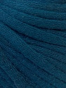 This is a tube-like yarn with soft cotton fleece filled inside. Fiber Content 70% Cotton, 30% Polyester, Navy, Brand ICE, Yarn Thickness 5 Bulky  Chunky, Craft, Rug, fnt2-32510