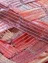 Fiber Content 90% Micro Fiber, 10% Metallic Lurex, Salmon, Pink, Lilac, Brand ICE, Yarn Thickness 6 SuperBulky  Bulky, Roving, fnt2-32517