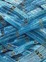 Fiber Content 90% Micro Fiber, 10% Metallic Lurex, Brand ICE, Blue Shades, Yarn Thickness 6 SuperBulky  Bulky, Roving, fnt2-32551