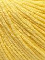 Fiber Content 60% Cotton, 40% Acrylic, Light Yellow, Brand ICE, Yarn Thickness 2 Fine  Sport, Baby, fnt2-32558