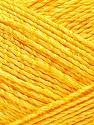 Fiber Content 50% Viscose, 50% Rayon, Yellow, Brand ICE, Yarn Thickness 2 Fine  Sport, Baby, fnt2-32629