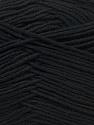 Fiber Content 100% Antibacterial Dralon, Brand ICE, Black, Yarn Thickness 2 Fine  Sport, Baby, fnt2-32827