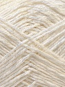 Fiber Content 50% Polyester, 50% Cotton, White, Brand ICE, Yarn Thickness 2 Fine  Sport, Baby, fnt2-33040