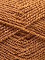 Fiber Content 94% Acrylic, 6% Lurex, Brand ICE, Gold, Brown, Yarn Thickness 3 Light  DK, Light, Worsted, fnt2-33095