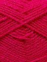 Fiber Content 94% Acrylic, 6% Lurex, Brand ICE, Fuchsia, Yarn Thickness 3 Light  DK, Light, Worsted, fnt2-33096