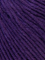 Fiber Content 50% Acrylic, 50% Cotton, Brand ICE, Dark Purple, Yarn Thickness 3 Light  DK, Light, Worsted, fnt2-33566