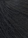 Fiber Content 70% Royal Baby Alpaca, 20% Nylon, 10% Merino Wool, Brand ICE, Black, Yarn Thickness 4 Medium  Worsted, Afghan, Aran, fnt2-33636