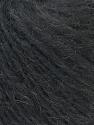 Fiber Content 70% Royal Baby Alpaca, 20% Nylon, 10% Merino Wool, Brand ICE, Black Melange, Yarn Thickness 4 Medium  Worsted, Afghan, Aran, fnt2-33637