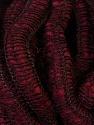 Fiber Content 90% Acrylic, 5% Wool, 5% Polyamide, Brand ICE, Burgundy, Yarn Thickness 6 SuperBulky  Bulky, Roving, fnt2-34053