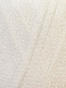 Fiber Content 100% Metallic Lurex, White, Brand ICE, Yarn Thickness 5 Bulky  Chunky, Craft, Rug, fnt2-34132