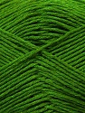 Fiber Content 50% Bamboo, 25% Dralon, 25% Cotton, Brand ICE, Green, Yarn Thickness 2 Fine  Sport, Baby, fnt2-34215