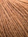 Fiber Content 50% Wool, 40% Acrylic, 10% Alpaca, Light Brown, Brand ICE, Yarn Thickness 3 Light  DK, Light, Worsted, fnt2-34414