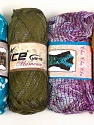 Please note that the weight and yardage information for this lot is approximate Scarf Yarns, Brand ICE, Yarn Thickness 6 SuperBulky  Bulky, Roving, fnt2-34790