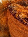 Fiber Content 7% Metallic Lurex, 60% Polyamide, 5% Mohair, 18% Acrylic, 10% Polyester, Orange, Brand ICE, Copper, Brown, Yarn Thickness 5 Bulky  Chunky, Craft, Rug, fnt2-35502