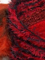 Fiber Content 5% Metallic Lurex, 45% Polyamide, 25% Acrylic, 25% Polyester, Red Shades, Orange, Brand ICE, Yarn Thickness 5 Bulky  Chunky, Craft, Rug, fnt2-35510