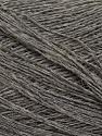 Fiber Content 60% Baby Alpaca, 25% Merino Wool, 15% Nylon, Yarn Thickness Other, Brand ICE, Grey, fnt2-35523