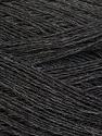 Fiber Content 60% Baby Alpaca, 25% Merino Wool, 15% Nylon, Yarn Thickness Other, Brand ICE, Dark Grey, fnt2-35524