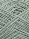 Fiber Content 60% Acrylic, 40% Wool, Light Grey, Brand ICE, Yarn Thickness 3 Light  DK, Light, Worsted, fnt2-35549