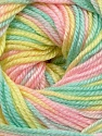 Fiber Content 60% Premium Acrylic, 40% Merino Wool, Yellow, Pink, Mint Green, Brand ICE, Yarn Thickness 2 Fine  Sport, Baby, fnt2-35579